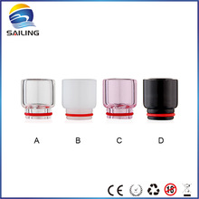 Sailing Original Wide Bore Pyrex Glass Drip Tips for TFV8