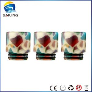 Epoxy Resin Floral Drip Tips for TFV12/TFV8