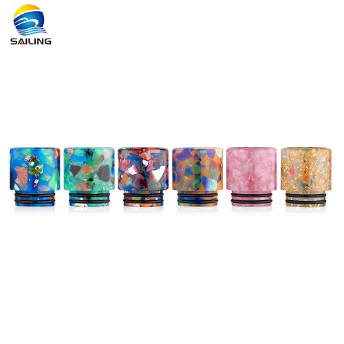 Epoxy Resin Floral 810 Drip Tips for TFV8/TFV12