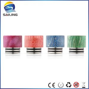 Stabilized wood drip tips for TFV8 9#