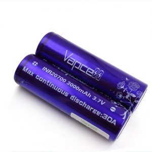 Vapcell INR20700 3000mAh 3.7V Battery 30A