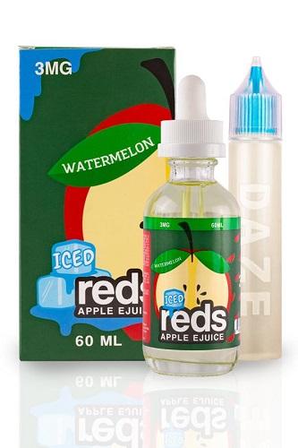 Watermelon Iced Reds Apple by Vape 7 Daze