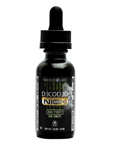Big Foot by Decoded Nic Salts